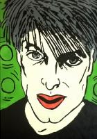 Self Portrait green